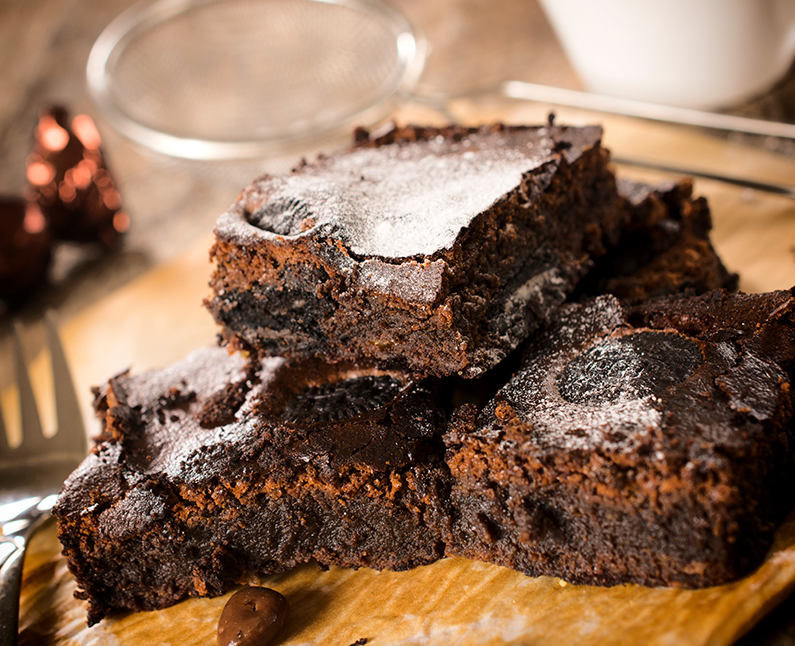 Fudgy (Healthy) Brownie