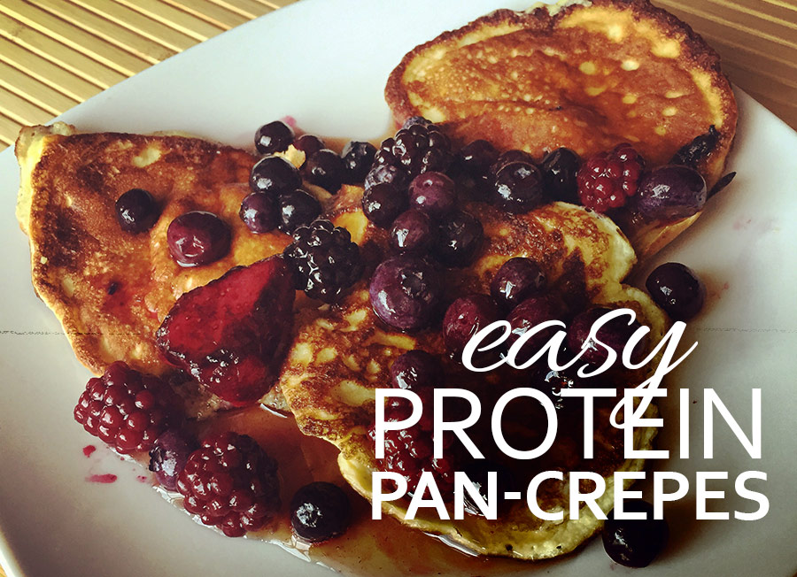 Easy Protein Pan-Crepes