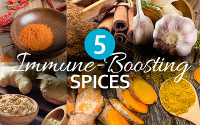 5 Immune-Boosting Spices