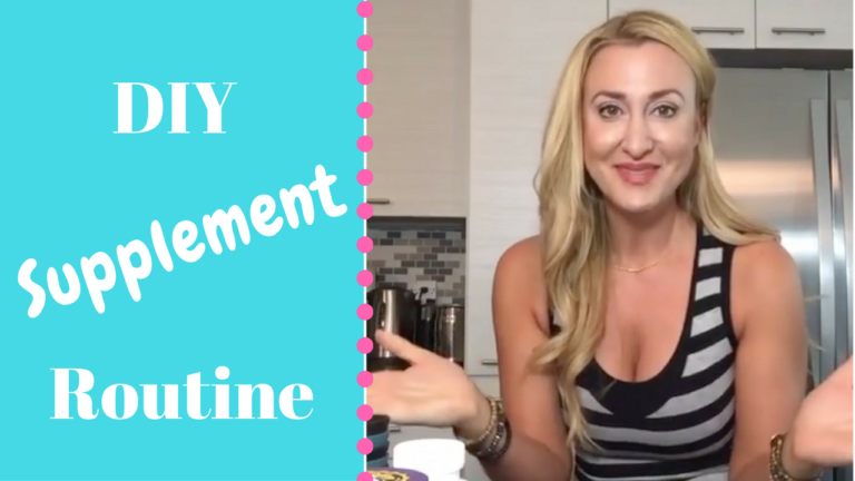 How To… Design your own supplement routine